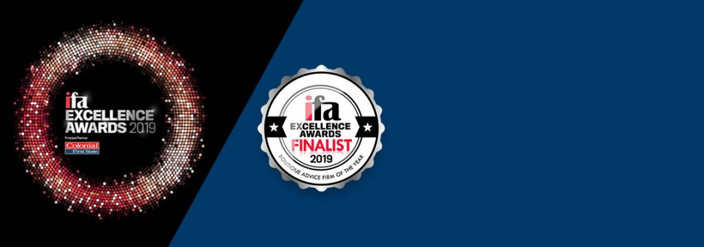 Apt Wealth Partners has been recognised at the IFA Excellence Awards, making the list of finalists