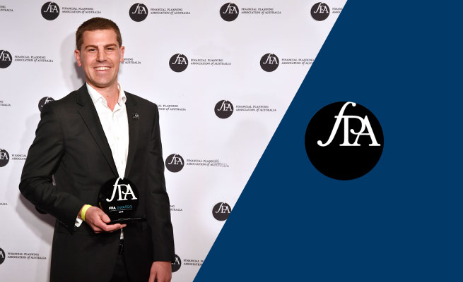 Apt Wealth Director and Senior Financial Planner Andrew Dunbar wins 2019 FPA CERTIFIED FINANCIAL PLANNER® Professional of the Year